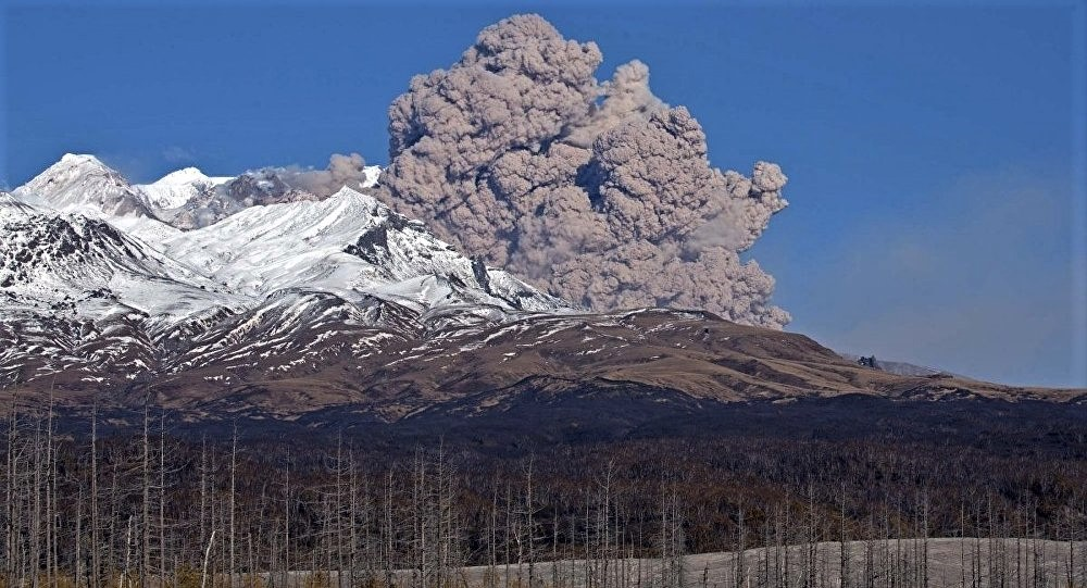 April 09 , 2020. EN. Kamchatka : Sheveluch , Japan : Sakurajima (Aira) , Chile : Nevados of Chillan , Guatemala : Fuego .