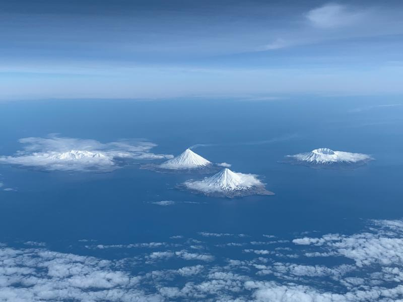 October 14, 2019. EN. Philippines : Taal , Indonesia : Anak Krakatau,  Alaska : Cleveland , Mexico : Popocatepetl .