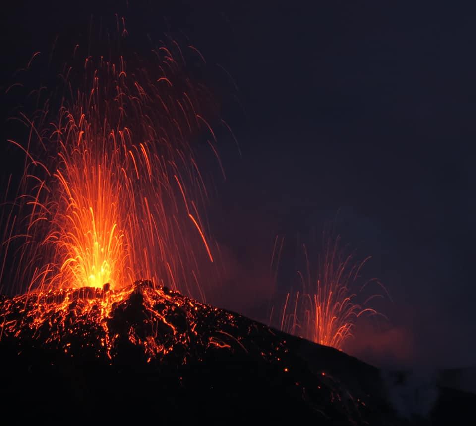 September 08, 2019. EN. Italy : Stromboli , Indonesia : Tangkuban Parahu , El Salvador : Santa Ana (Ilamatepec) , Costa Rica : Turrialba / Poas / Rincon de la Vieja .