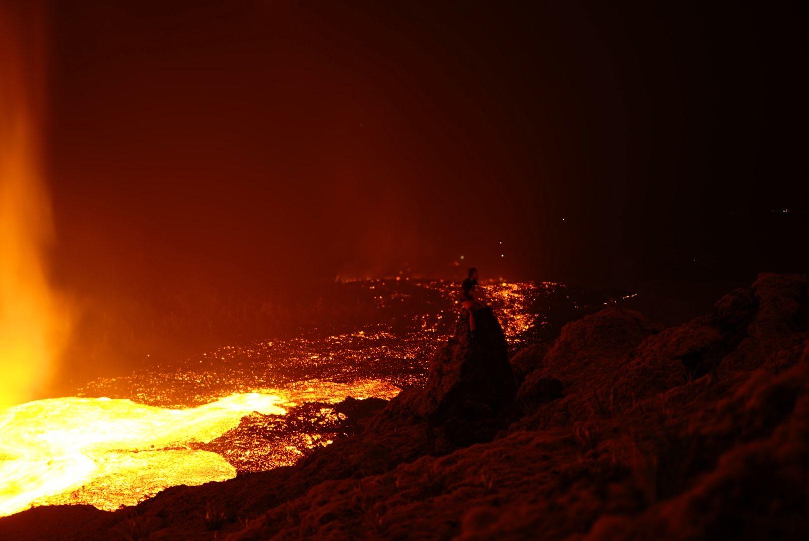 26 Octobre 2019. FR . La Réunion : Piton de la Fournaise , Chili : Nevados de Chillan , Alaska : Shishaldin , Kamchatka : Klyuchevskoy .