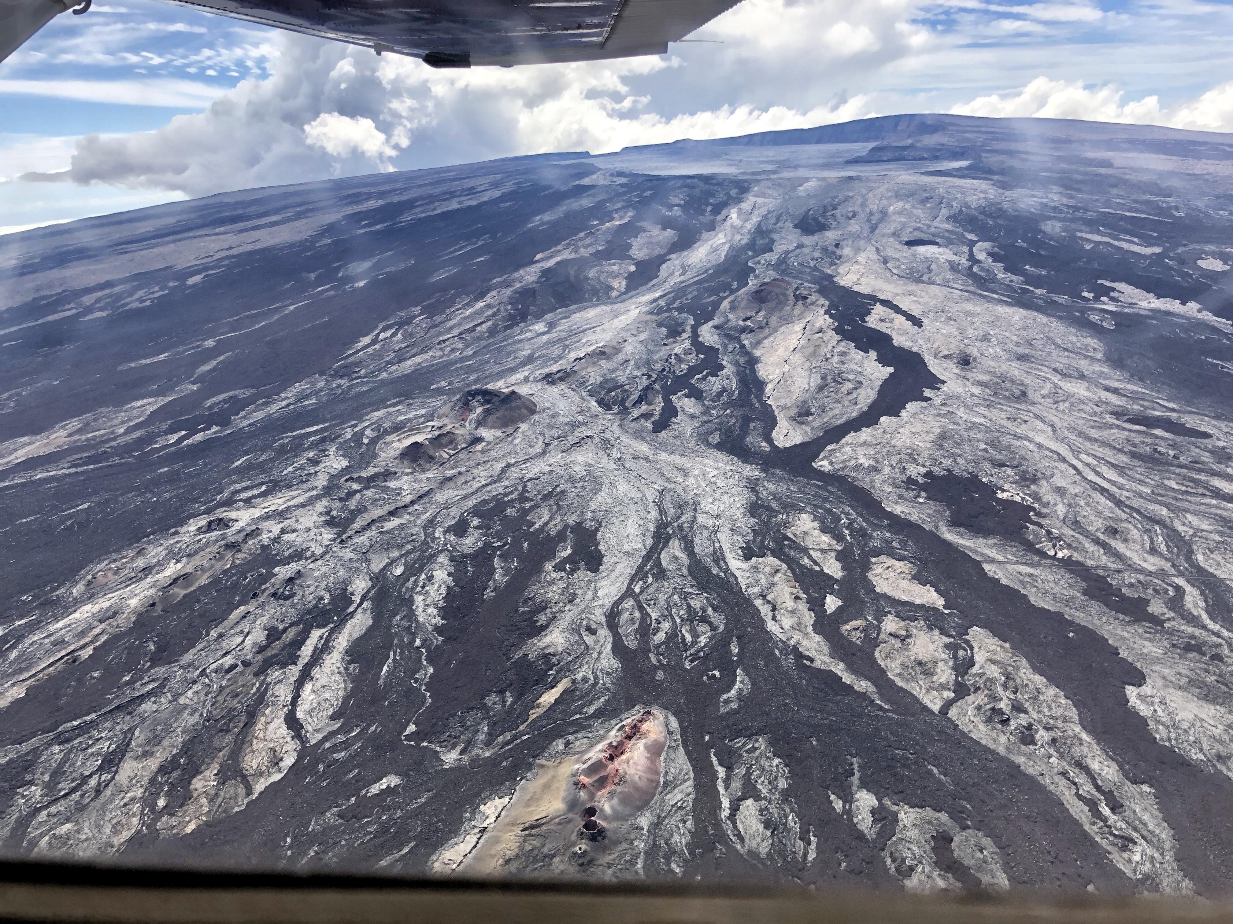 November 01 , 2019. EN . Alaska : Shishaldin , Hawaii : Mauna Loa , Colombia : Cumbal , Kamchatka : Klyuchevskoy .