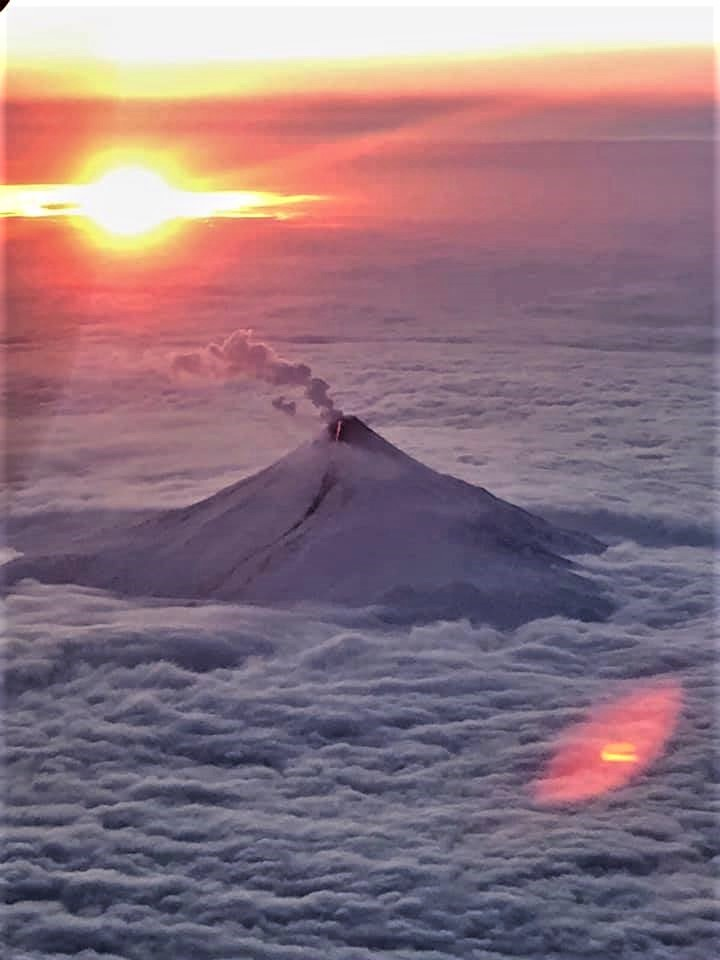 January 09, 2020. EN . Alaska : Shishaldin , La Reunion : Piton de la Fournaise , Colombia : Chiles / Cerro Negro , Papua New Guinea : Ulawun .