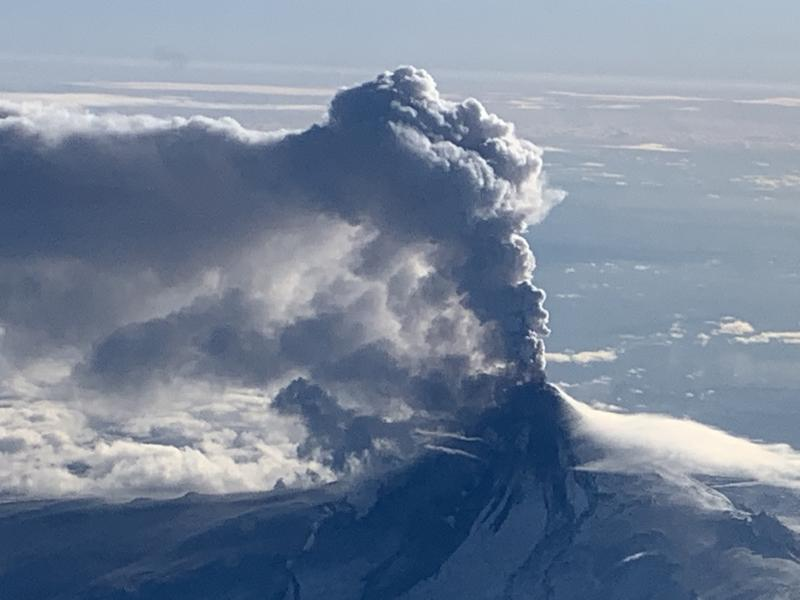 April 24, 2020. EN . Alaska : Shishaldin , Colombia : Nevado del Ruiz , Ecuador : Reventador , Hawaii : Mauna Loa , Mexico : Popocatepetl .
