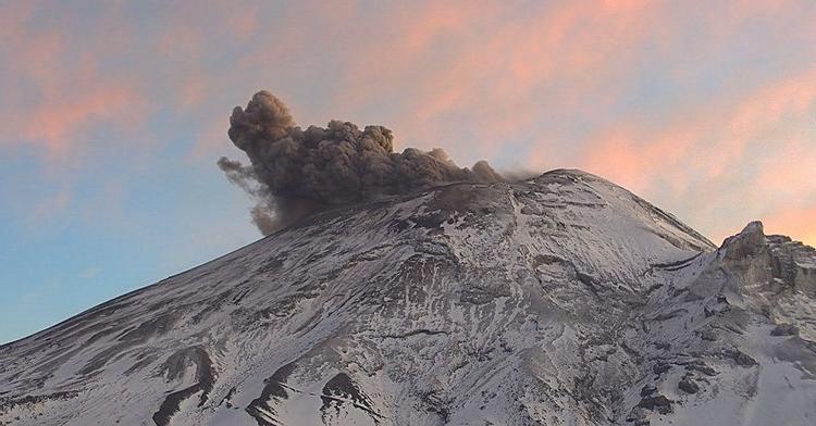 08 Fevrier 2020 . FR . Indonésie : Merapi , Italie : Campi Flegrei , Philippines : Taal , Islande : Mt Thorbjörn , Mexique : Popocatepetl .