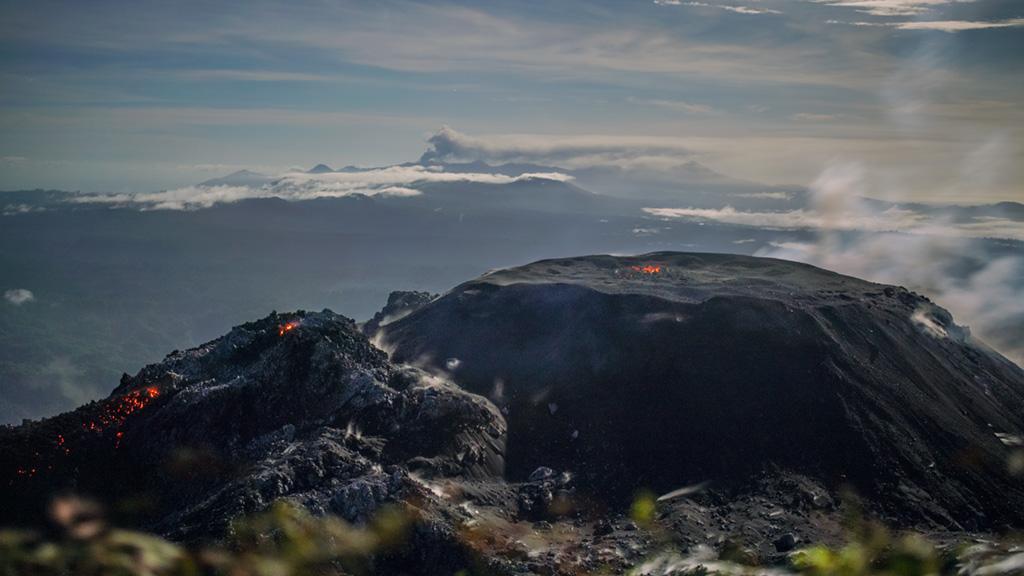 March 24, 2020. EN. Peru : Sabancaya , Indonesia : Ibu , Colombia : Nevado del Ruiz , Guatemala : Fuego , Mexico : Popocatepetl .
