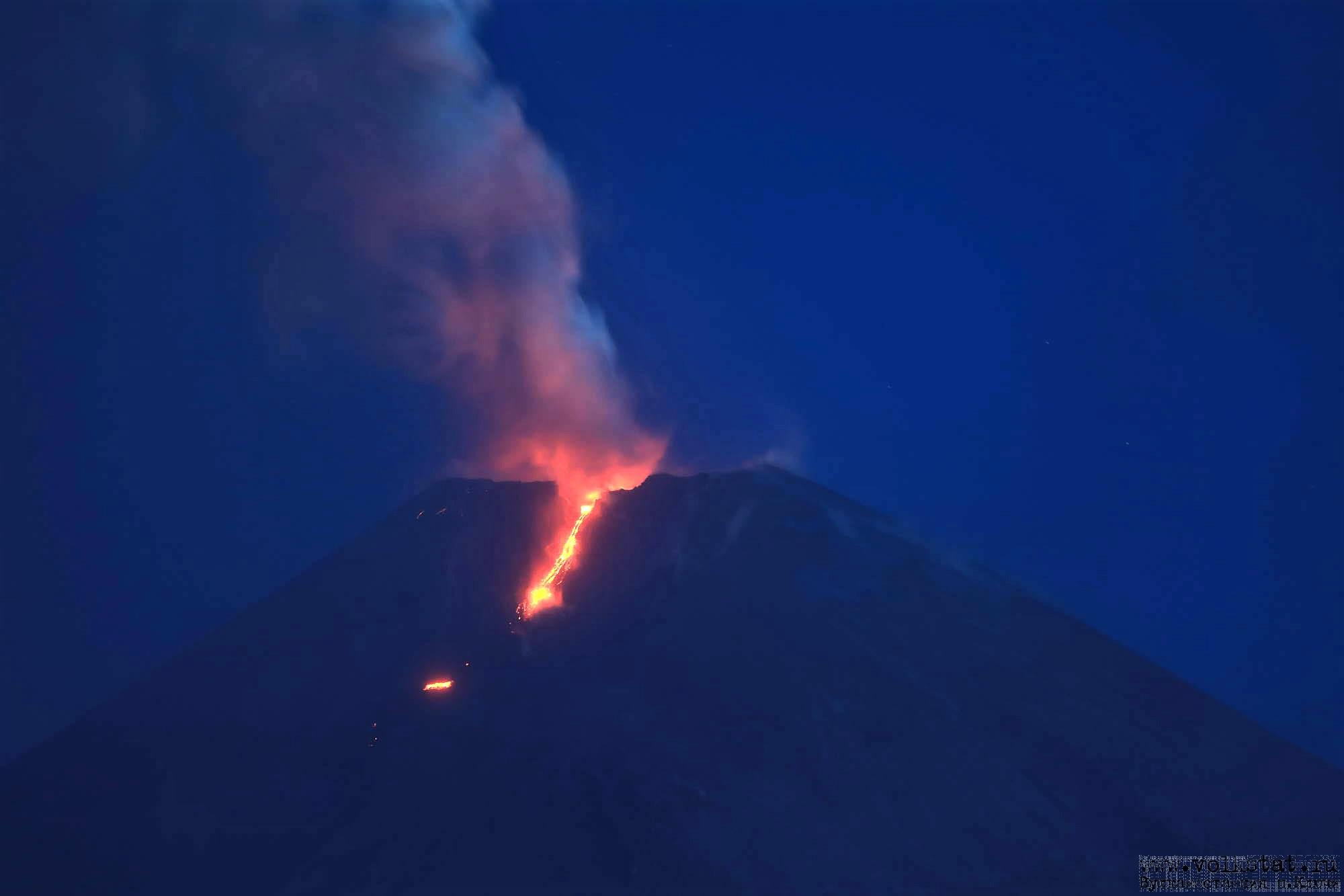 April 29, 2020. EN . Italy / Sicily : Etna , Kamchatka : Klyuchevskoy / Ebeko , Colombia : Chiles / Cerro Negro , Guatemala : Pacaya .