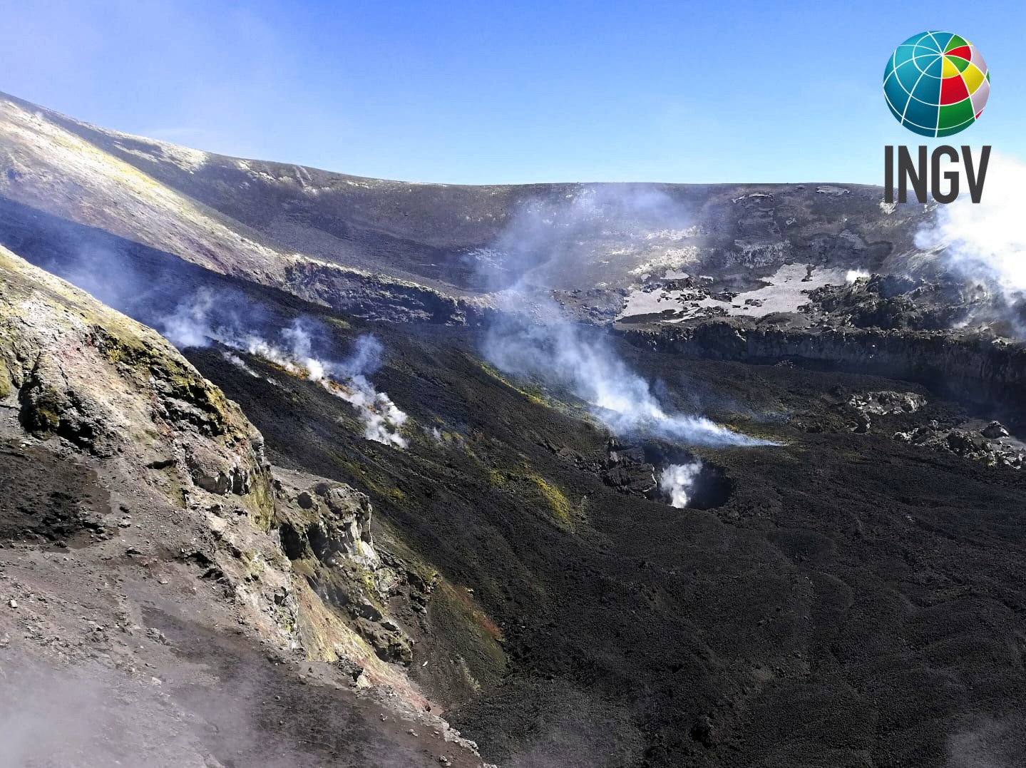 April 18, 2020. EN. Italy / Sicily : Etna , Kamchatka : Karymsky , Indonesia : Anak Krakatau , Ecuador : Sangay , Guatemala : Fuego .