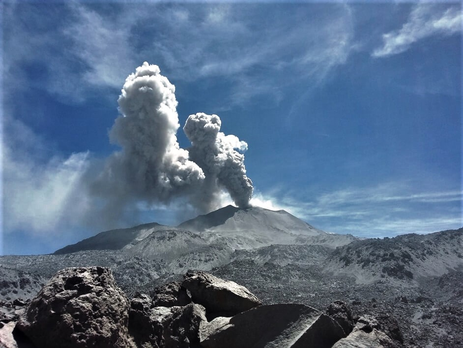 May 12, 2020. EN. Peru : Sabancaya , Alaska : Shishaldin , Indonesia : Semeru , Chile : Nevados of Chillan , Guatemala : Fuego .