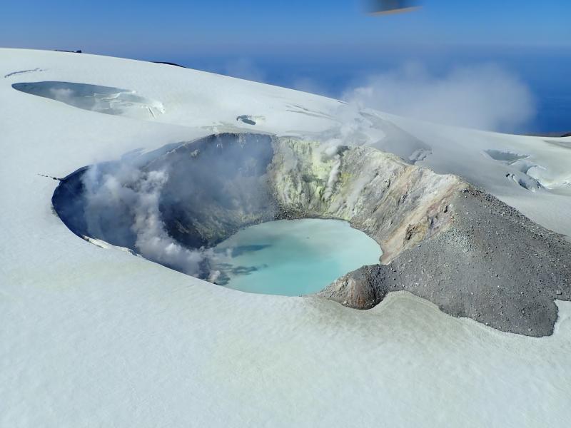 16 Juin 2020 . FR . Alaska : Makushin , Nouvelle Zélande : White Island , Pérou : Sabancaya , Chili : Nevados de Chillan .