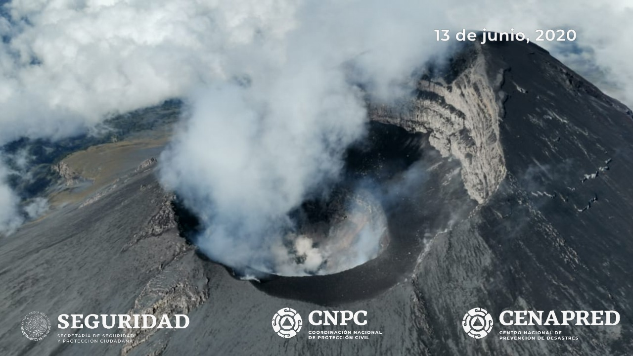 15 Juin 2020. FR. Philippines : Kanlaon / Mayon / Taal , Indonésie : Semeru , Guatemala : Fuego , Mexique : Popocatepetl .