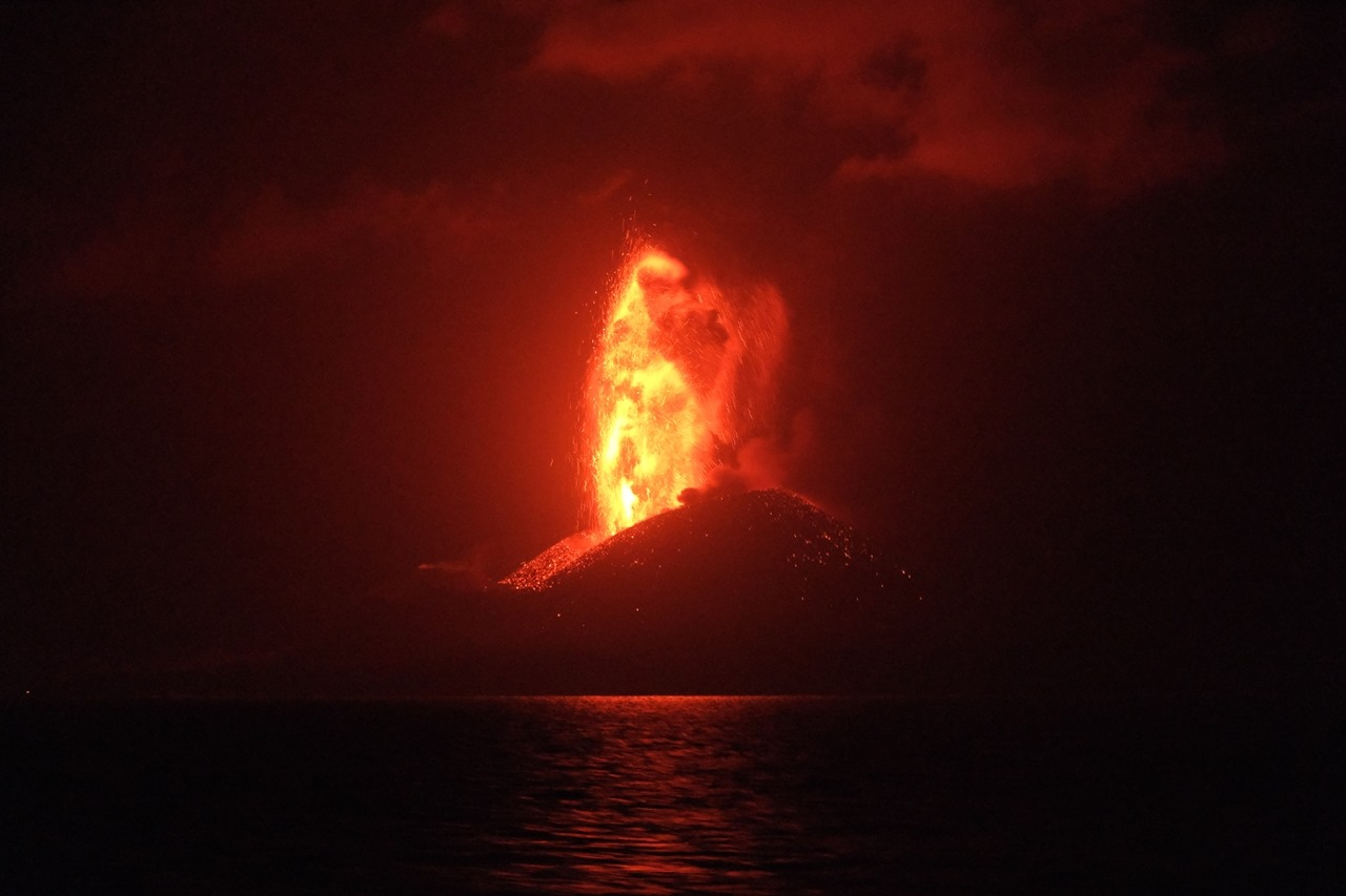 16 Juillet 2020. FR . Japon : Nishinoshima , Italie / Sicile : Etna , Philippines : Bulusan , Chili : Nevados de Chillan , Japon : Suwanosejima .