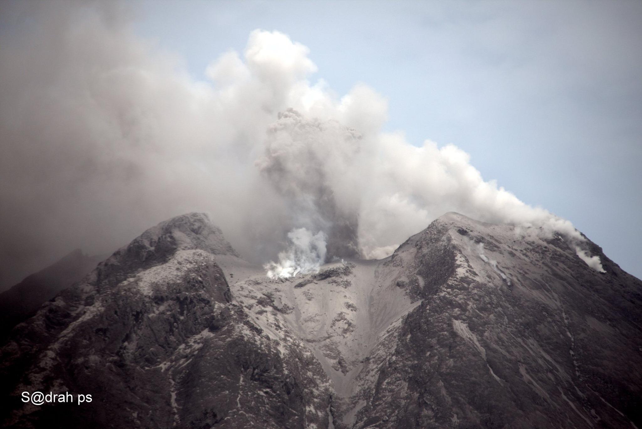August 27, 2020. EN . Italy / Sicily : Etna , Indonesia : Sinabung , Hawaii : Mauna Loa , Japan : Sakurajima , Ecuador : Reventador .