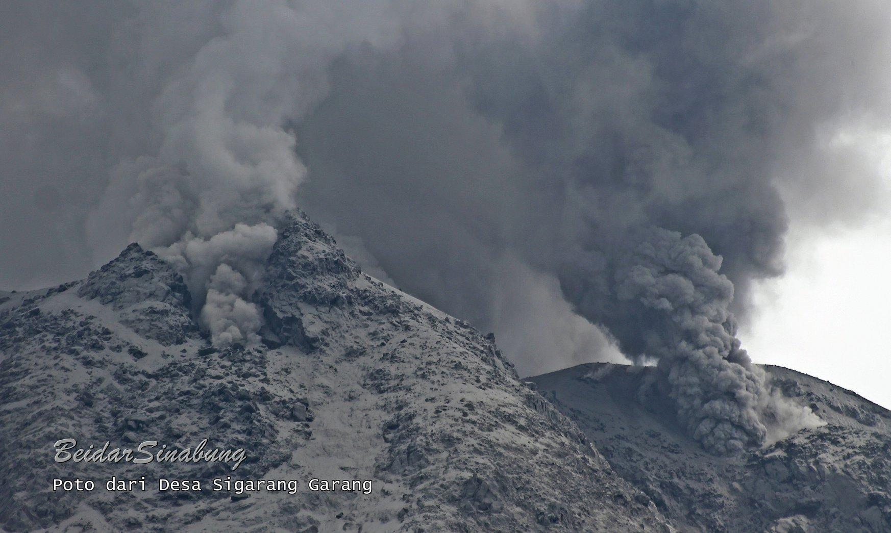 September 05, 2020. EN. Russia / Kurile Islands : Ebeko , Indonesia : Sinabung , Ecuador : Sangay / Cotopaxi / Cayambe , Iceland : Reykjanes Peninsula .