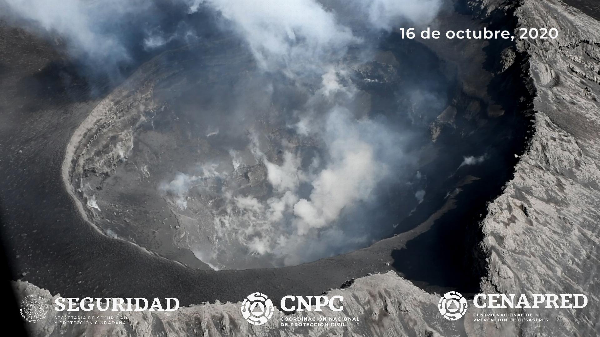 October 17, 2020. EN . Indonesia : Kerinci , Russia / Kurile Islands : Ebeko , El Salvador : Santa Ana (Llamatepec) , Ecuador : Reventador , Mexico : Popocatepetl .