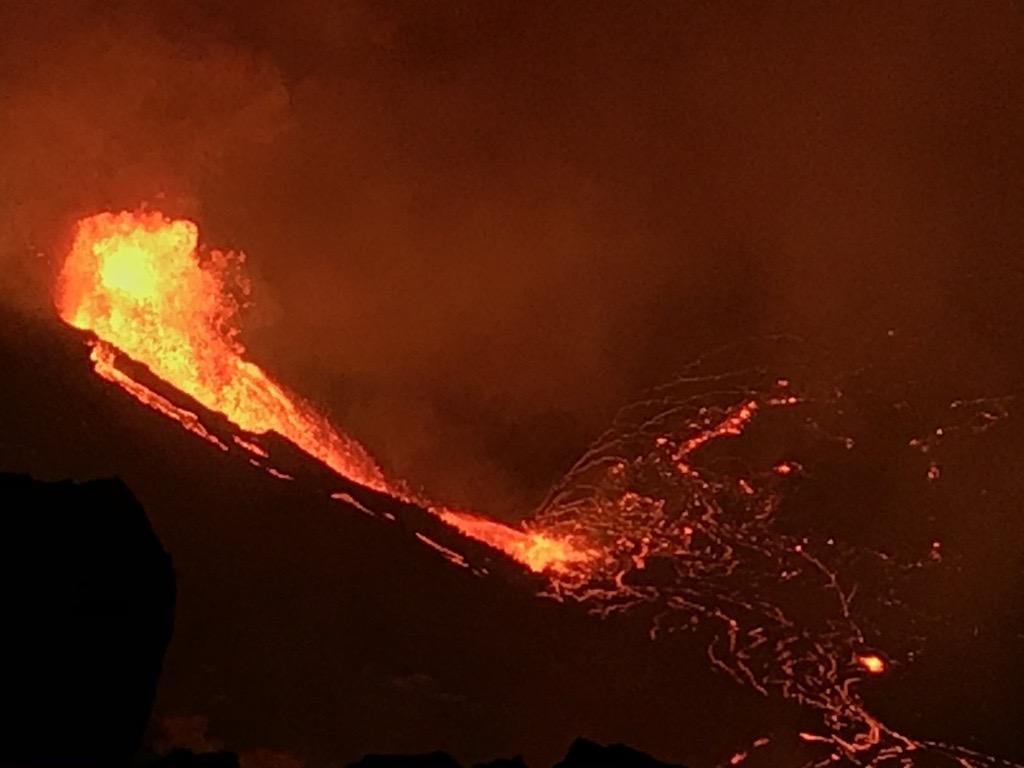 December 22, 2020. EN. Hawaii : Kilauea , Kamchatka : Sheveluch , Italy / Sicily : Etna , Peru : Sabancaya .
