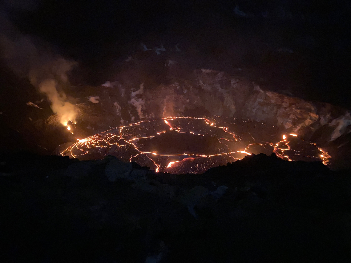 December 31, 2020. EN . Italy : Stromboli , Hawaii : Kilauea , Saint Vincent and the Grenadines : Soufrière Saint Vincent , Japan : Shinmoedake .