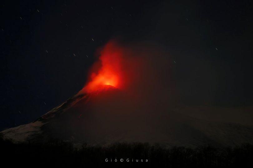 05 January 2021. EN . Italy / Sicily : Etna , Saint Vincent and the Grenadines : Soufrière Saint Vincent , Hawaii : Kilauea , Peru : Sabancaya .