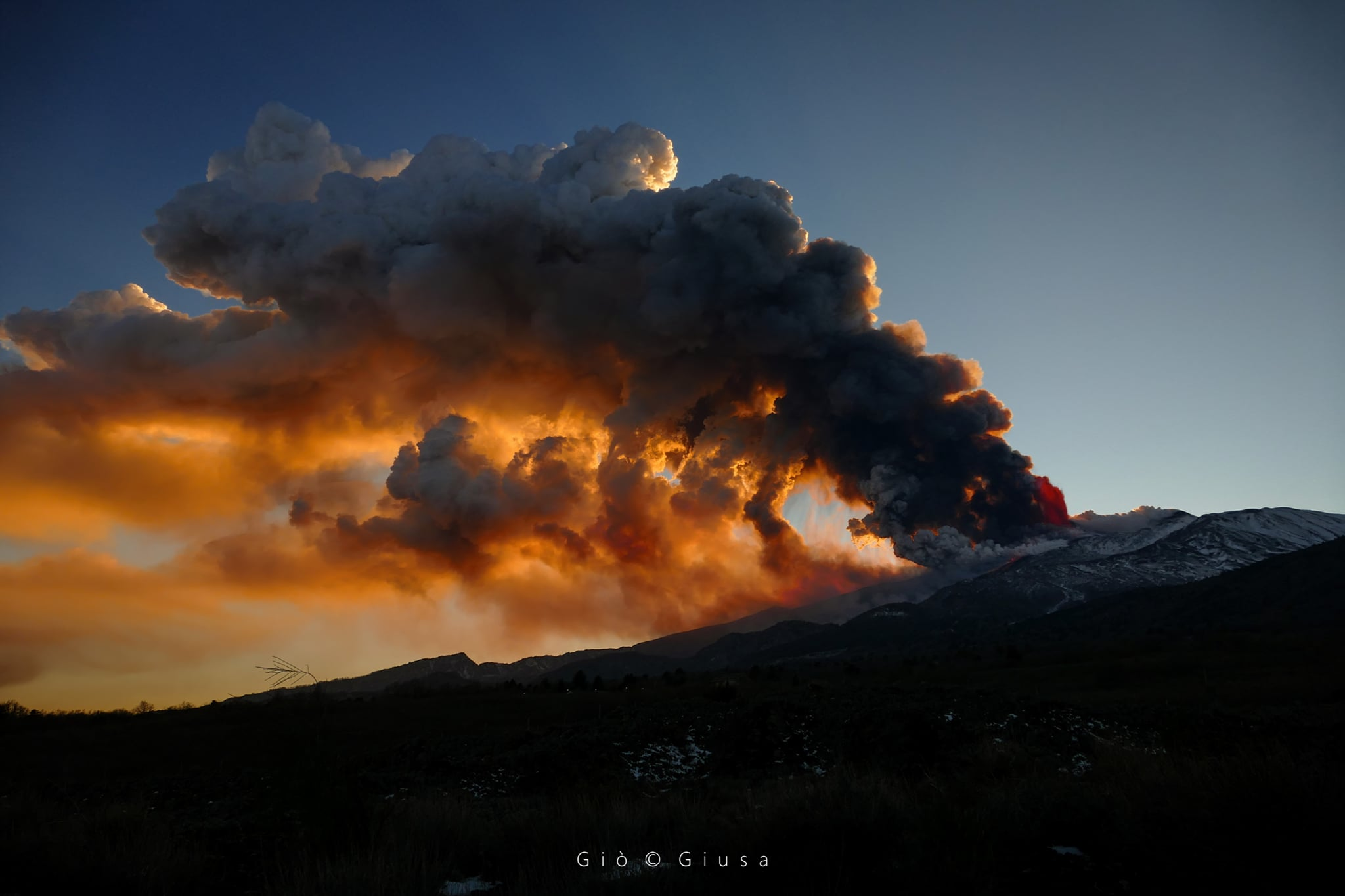 February 19, 2021. EN . Italy / Sicily : Etna , Kamchatka : Ebeko , New Zealand : White Island , Chile : Villarica , Guatemala : Pacaya .