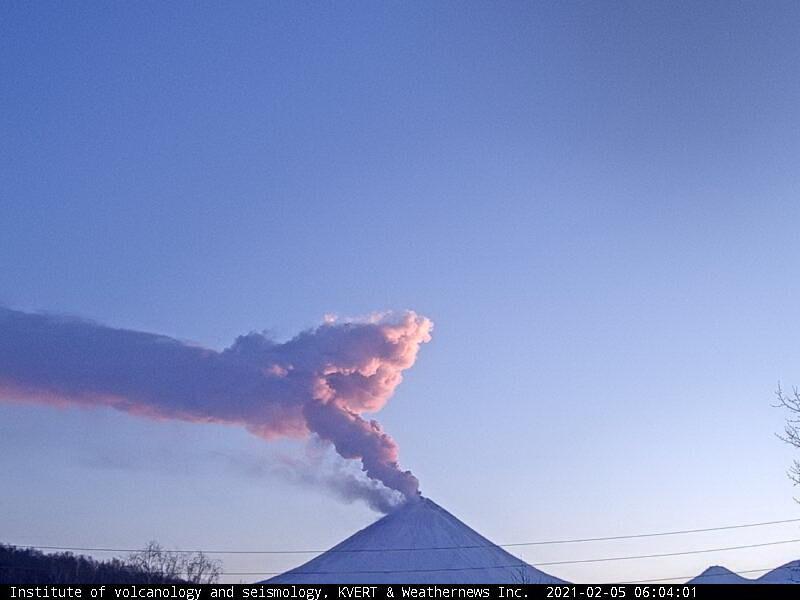 February 07, 2021. EN . Alaska : Semisopochnoi , Kamchatka : Klyuchevskoy , Philippines : Taal , Indonesia : Raung , Chile : Cerro Hudson .