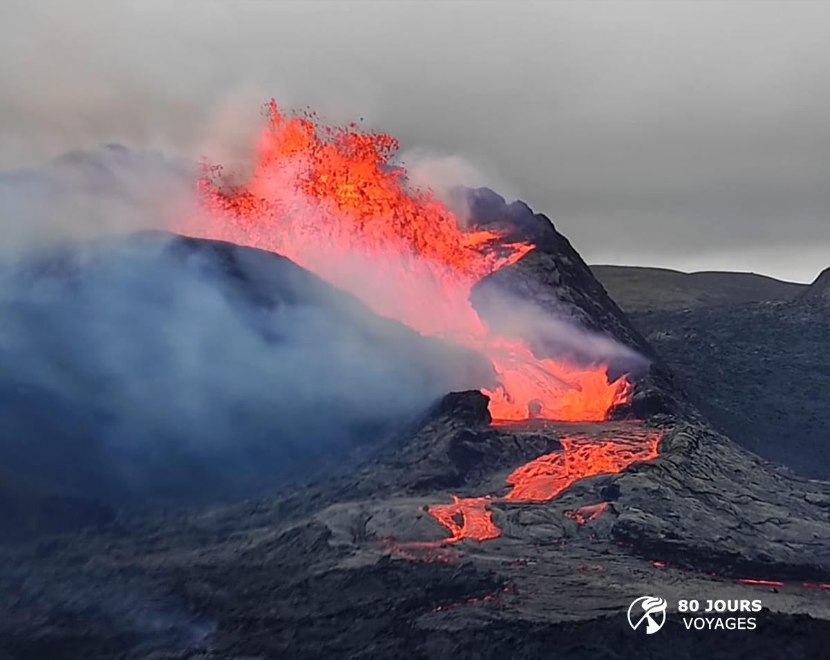 April 04 , 2021. EN. Iceland : Geldingadalur / Fagradalsfjall , Democratic Republic of Congo : Nyiragongo : Indonesia , Sinabung , Alaska : Great Sitkin ,