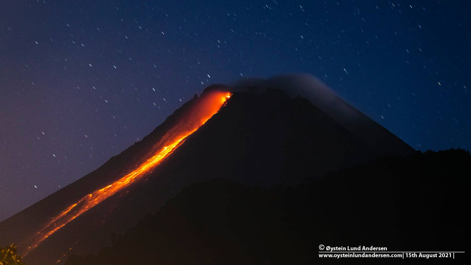 August 21, 2021. EN . Indonesia : Merapi , Kamchatka : Sheveluch , Philippines : Taal , Chile : Nevados de Chillan , Guatemala : Fuego .
