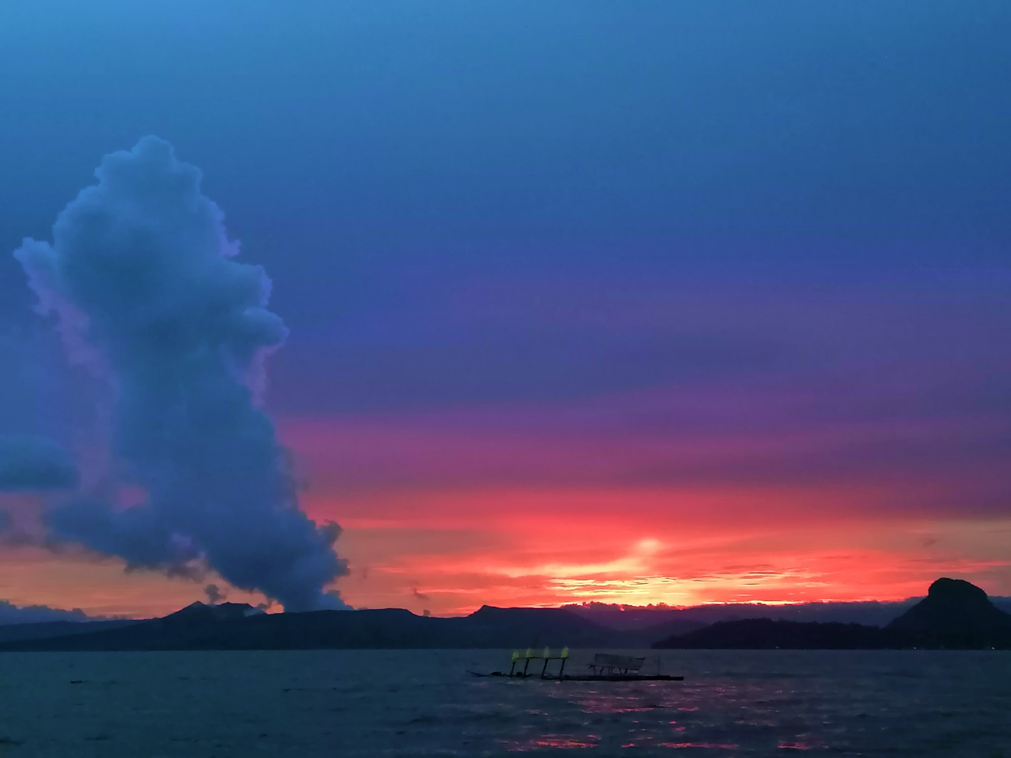 September 06, 2021. EN. Iceland : Skaftá River , Philippines : Taal , New Zealand : White Island , Colombia : Cumbal , Guatemala : Fuego .